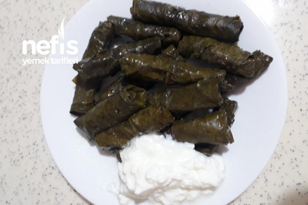 Azerbaycan Mutfağından Etli Yaprak Dolması Tarifi