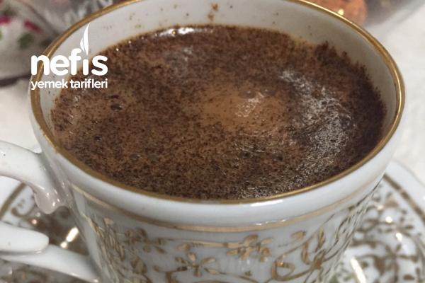 Sodalı Nutellalı Nefis Türk Kahvesi Tarifi