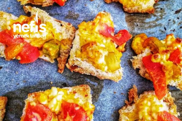Bayat Ekmekten Kahvaltılık Tarifi