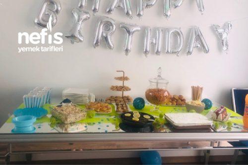 Doğum Günü Masası Tarifi