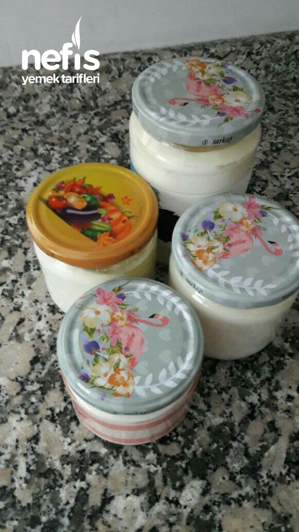 Ev Yogurtdu Taş Gibi