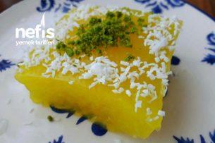 İrmikli Portakallı Fresh Tatlı Tarifi