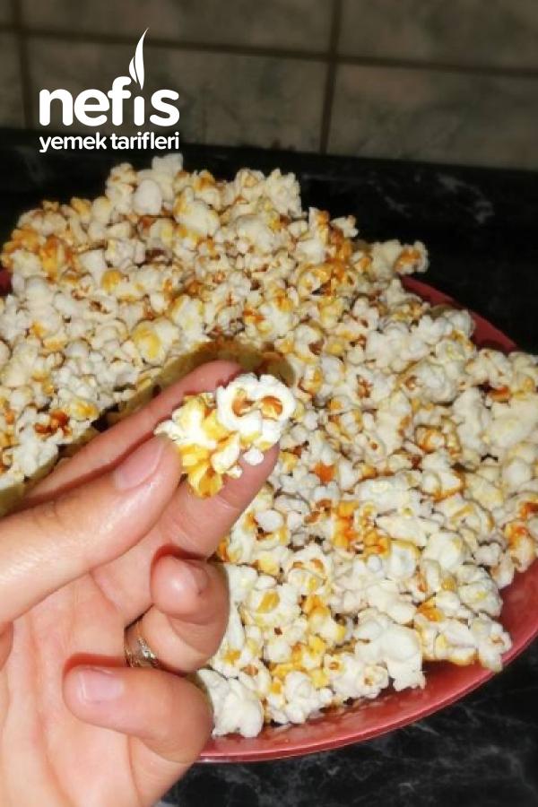 Karamelli Patlamiş Misir (popcorn, karamelize edilmiş mısır)