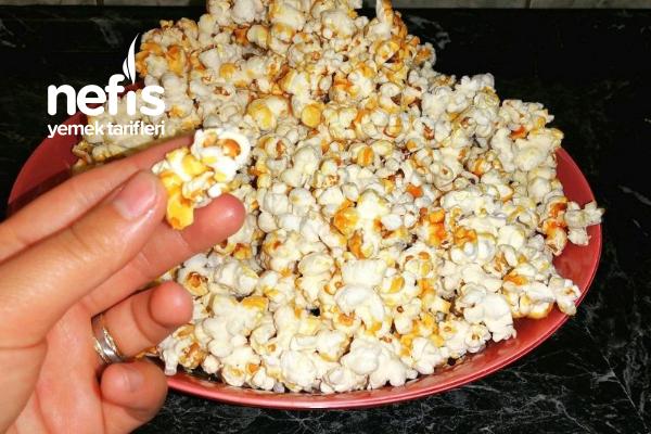 Karamelli Patlamış Mısır (Popcorn, Karamelize Edilmiş Mısır)