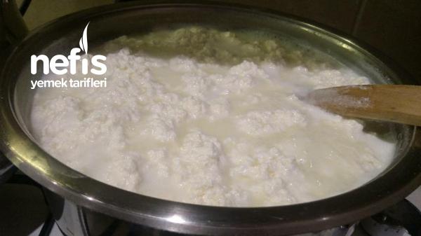 Lokum Gibi Peynir Yapımı