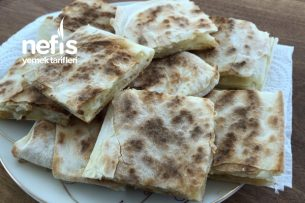 Kahvaltılık Patatesli Çıtır Gözleme (Çok Lezzetli) Tarifi