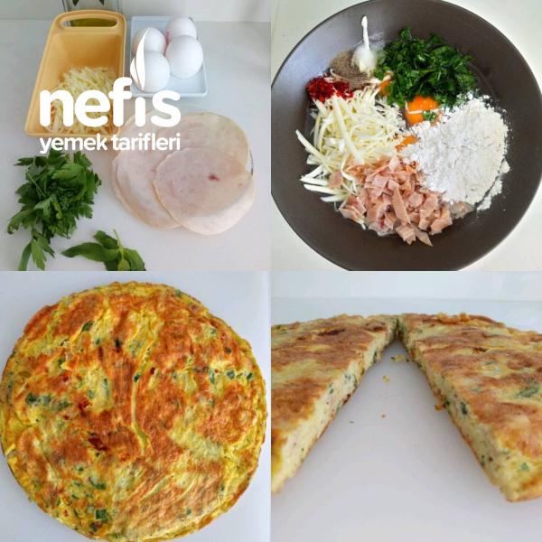 Omlet (Hindi Fümeli Bol Malzemeli)