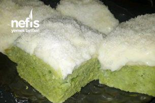 Ispanaklı Kremalı Kek Tarifi