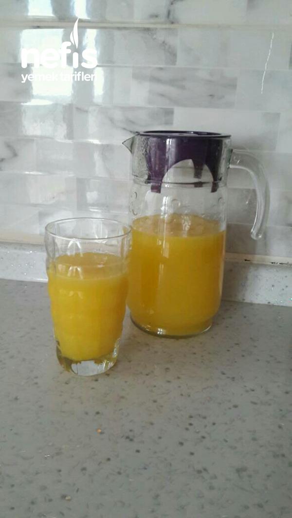 Portakallı Limonlu Meyve Suyu