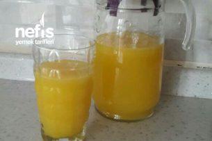 Portakallı Limonlu Meyve Suyu Tarifi