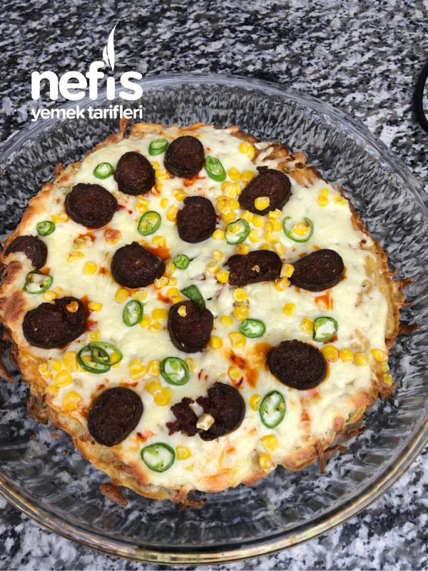 30 Dakikada Pratik Sebzeli Krep Pizza