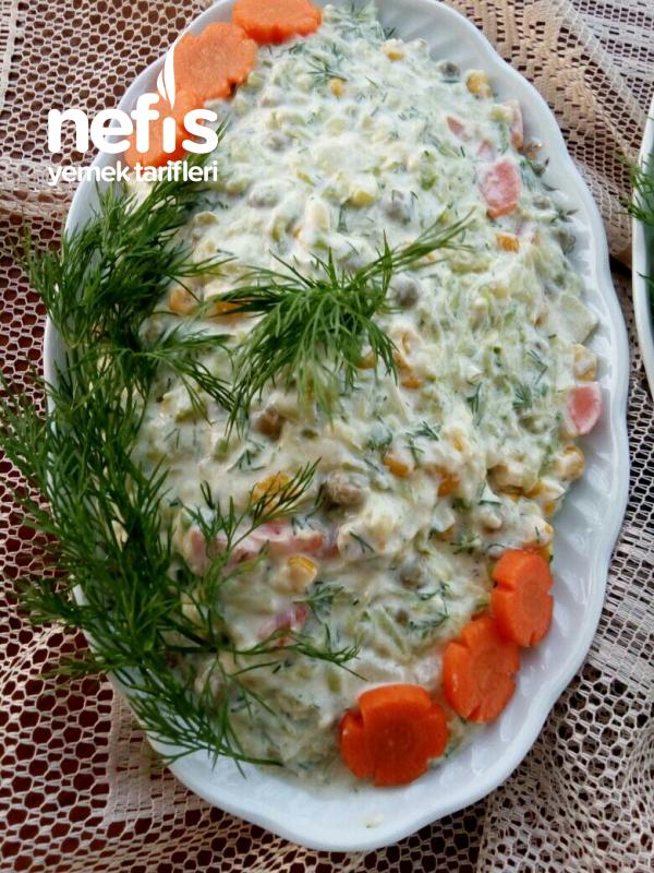 Bol Malzemeli nefis Kabak Salatası