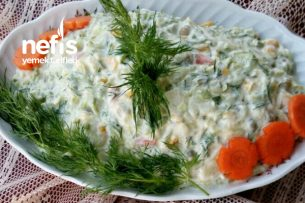 Bol Malzemeli Nefis Kabak Salatası Tarifi
