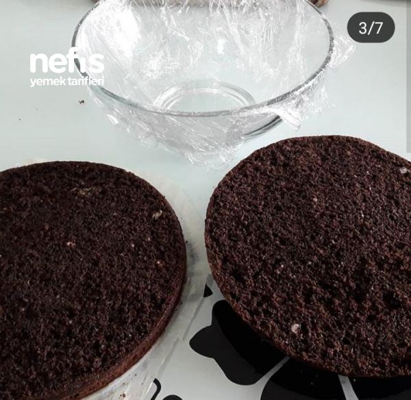 Çikolatalı Muzlu Kümbet Pasta