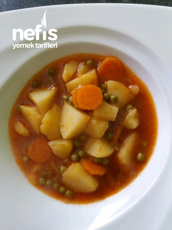 Etsiz Sebze Yemeği ( Vegetar)