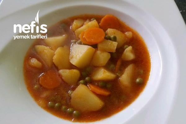 Etsiz Sebze Yemeği (Vegetar) Tarifi