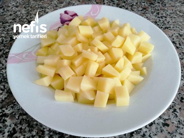 Kahvaltılık Patatesli Yumurtalı Omlet