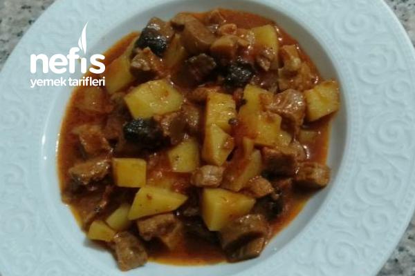 Mantarlı Patatesli Et Yemeği Tarifi
