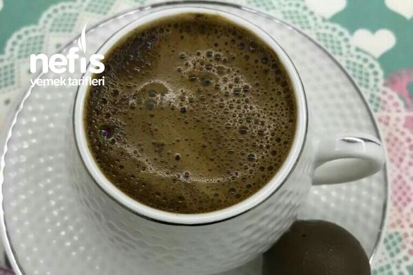 Çikolatalı Türk Kahvesi (Bol Köpüklü) Tarifi