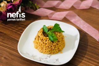 Mis Gibi Kokar Patlıcanlı Tavuklu Bulgur Pilavı Tarifi