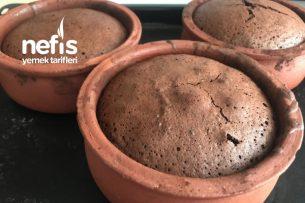 Nefis Hafif (Unsuz) Tam Kıvamında Çikolatalı Sufle Tarifi