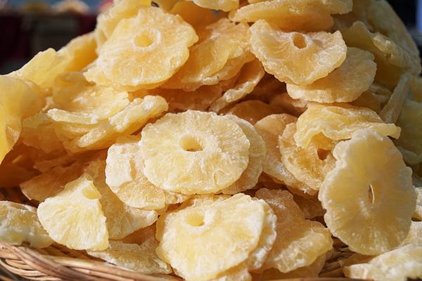 kurutulmuş ananas