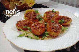 Kıymalı Patates Çanakları (Fırınsız Çok Leziz) Tarifi