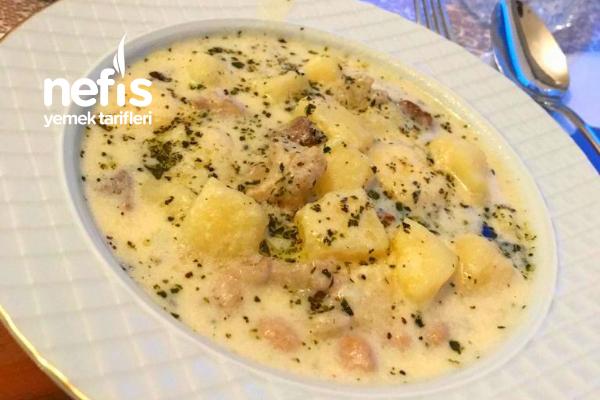 Antep Usulü Yoğurt Patates Tarifi
