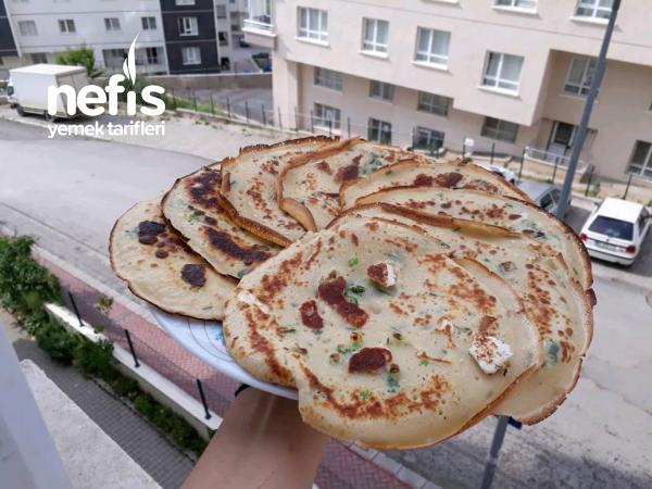 Börek Lezzetinde Peynirli Krep