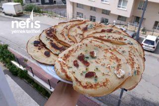 Börek Lezzetinde Peynirli Krep Tarifi