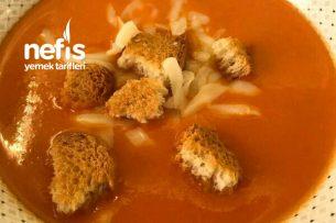 Domates Çorbası (Tam Kıvamında) Tarifi