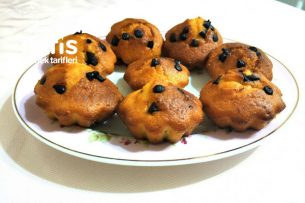 Muffin ( Damla Çikolatalı ) Tarifi