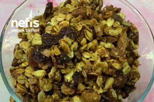 Sağlıklı Granola   Elma Püresi Tarifi