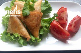 Ton Balıklı Zeytinli Samosa (Muska Böreği) Tarifi