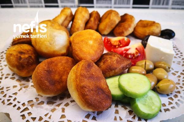 Ekmek Hamurundan Pişi Nasıl Yapılır? Kolay Pişi Tarifi (Videolu)