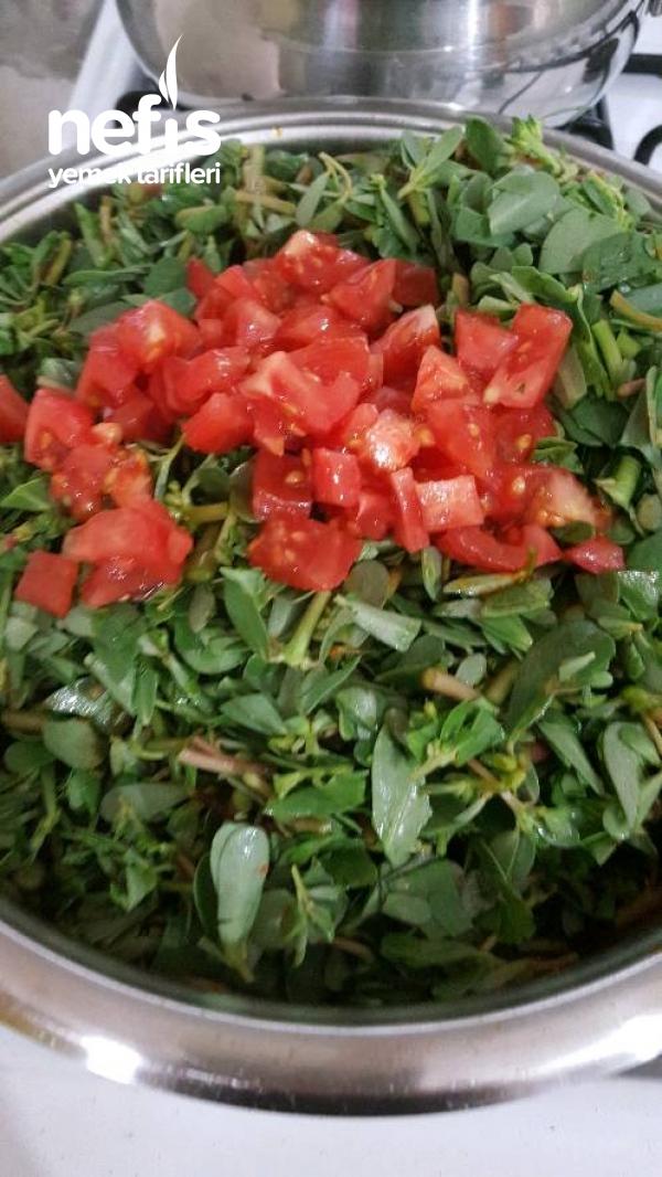 Zeytinyağlı SemizOtu Yemeği