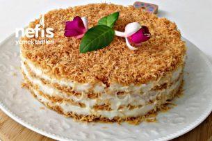 Kadayıf Pastası (Videolu) Tarifi