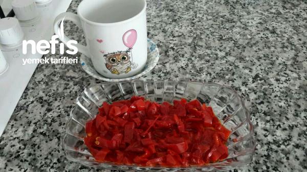 Kırmızı Biber Kavurmasi