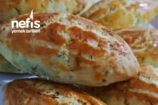 Dereotlu Peynirli Poğaça (Kıyır Kıyır) Tarifi