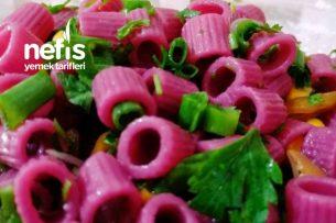 Şalgamlı Makarna Salatası Tarifi