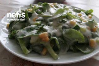 Yoğurtlu Mısırlı Semızotu Salatası Tarifi