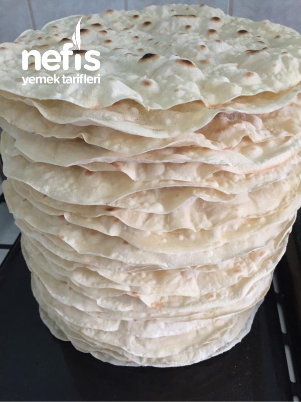 Yufka Ekmek ( Kışlık Dürümlük Kuru Yufka )
