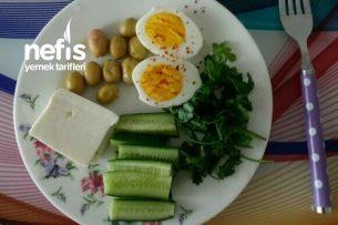 Diyet Sabah Kahvaltısı Tarifi