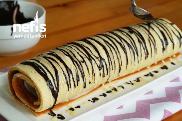 Kırılmadan Kolayca Sarılan Rulo Pasta Tarifi (videolu)