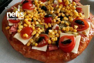 Ramazan Pidesinden Harika Pizza Tarifi