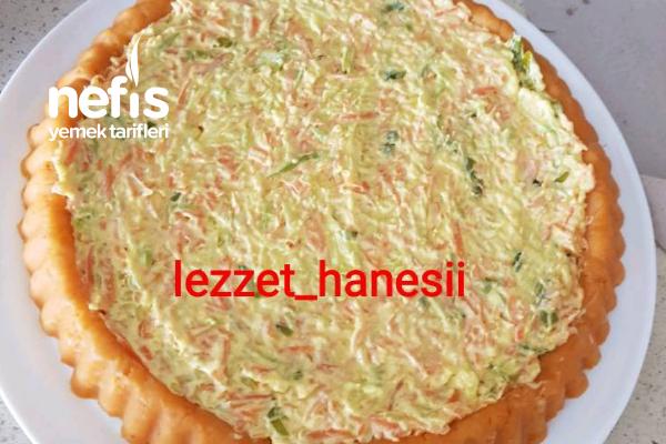 Tart Kalıbında Sebzeli Patates Salatası Tarifi