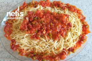Yedikçe Yedirten Spagettim Tarifi