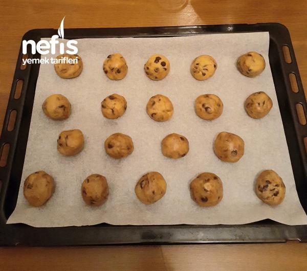 Chocolate Chip Cookie ( Amerikan Kurabiyesi)