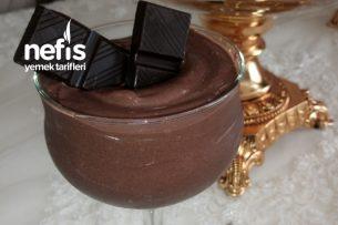 Çikolatalı Puding (Hazırdan Öte Tadıyla) Tarifi
