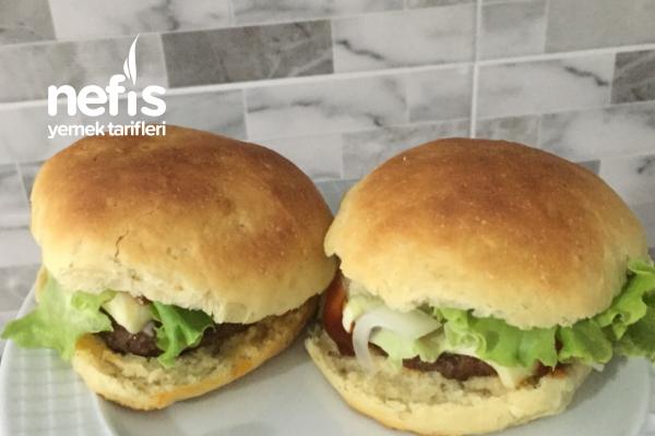 Evde Sağlıklı Nefis Hamburger Tarifi